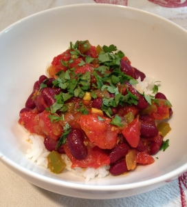 Indian Spiced Vegetarian Chili - This is Rajma!